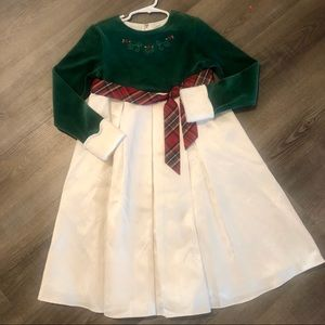 New bitty baby by American Girl Christmas Dress-6x